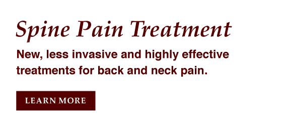 Spine Pain Treatment in Houston