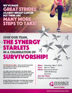 sra making strides flyer